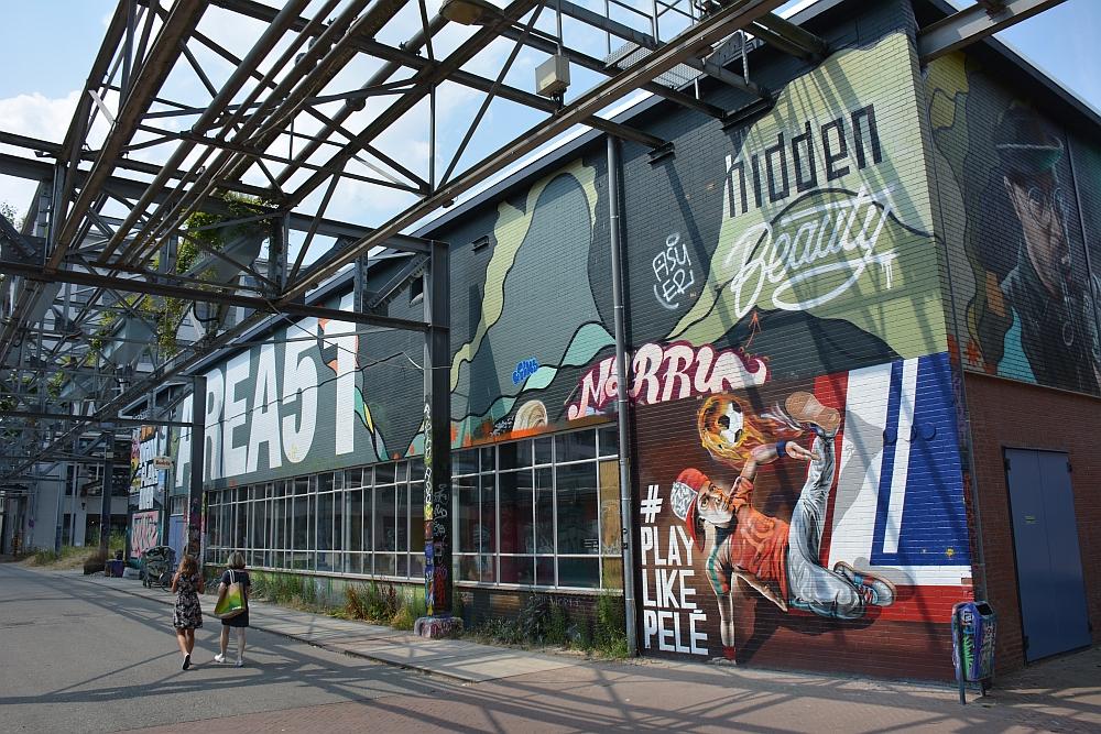 streetart in Eindhoven Strijp S overzicht