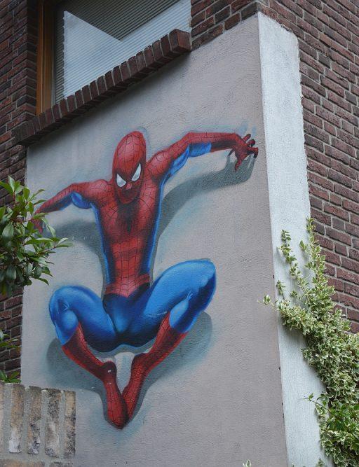 streetart in Eindhoven Superman Smitsstraat