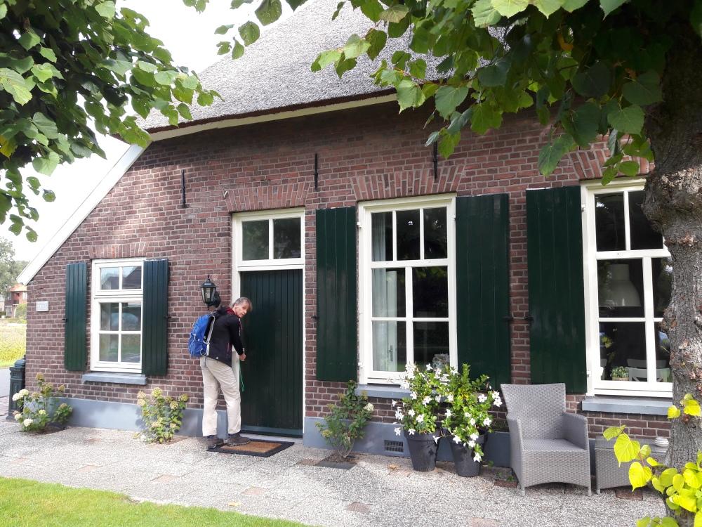B&B Woonboerderij Dijkerhoek klaar om te gaan wandelen