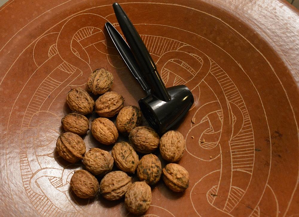 B&B Woonboerderij Dijkerhoek verse walnoten uit eigen tuin