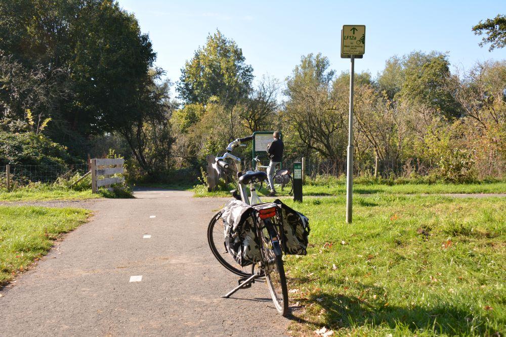 Maas en Vestingroute IJsselmonde de drukte uit