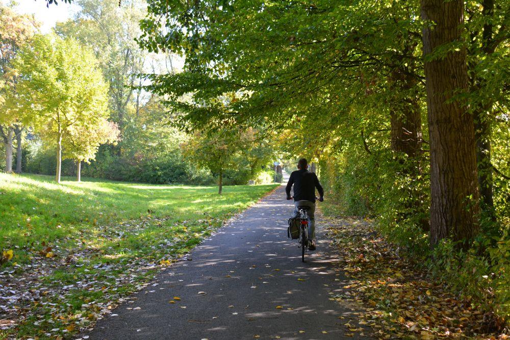 Maas en Vestingroute IJsselmonde fietspad