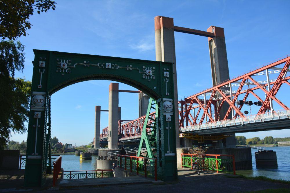 Maas en Vestingroute IJsselmonde oude brug