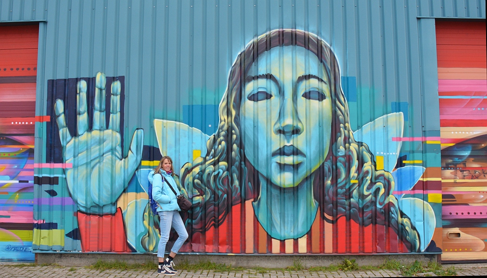 Street Art in Amsterdam NSDM Werf