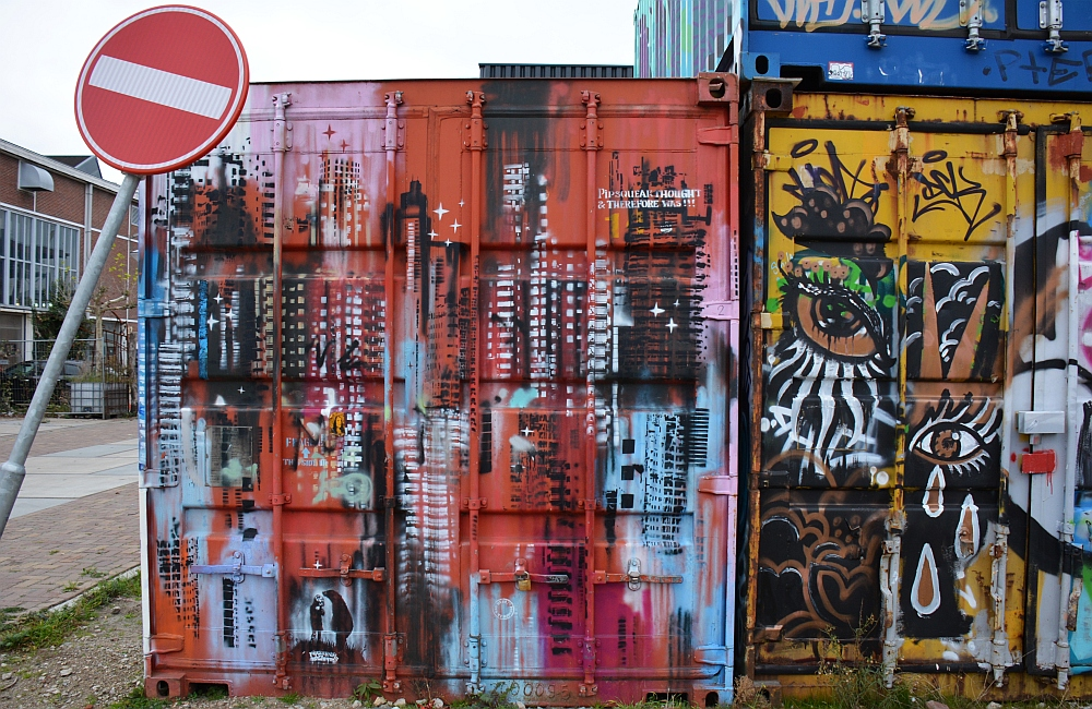 Streetart Amsterdam NSDM werf