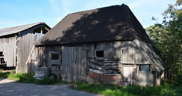 Trage tocht Hilvarenbeek boerenschuur