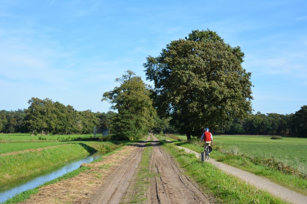 Trage tocht Hilvarenbeek langs de velden