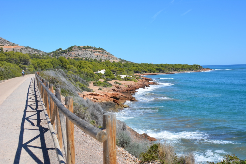 Vakantie in Castellón Via Verde del Mar Benicassim