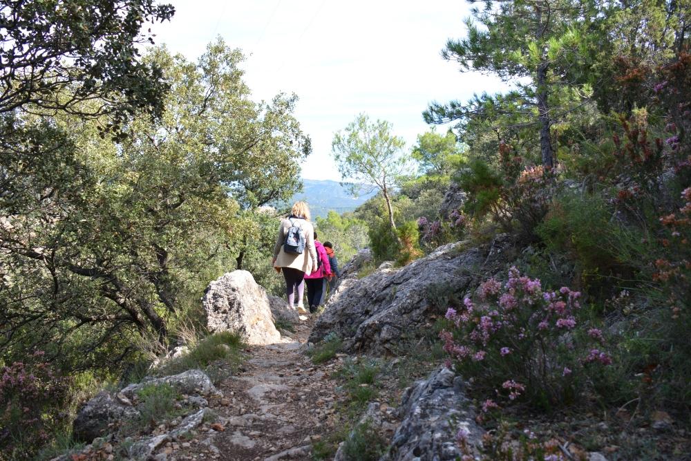Vakantie in Castellón hike Parc Natural Tinença de Benifassà
