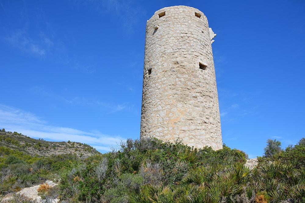 Vakantie in Castellón toren Sierra de Irta
