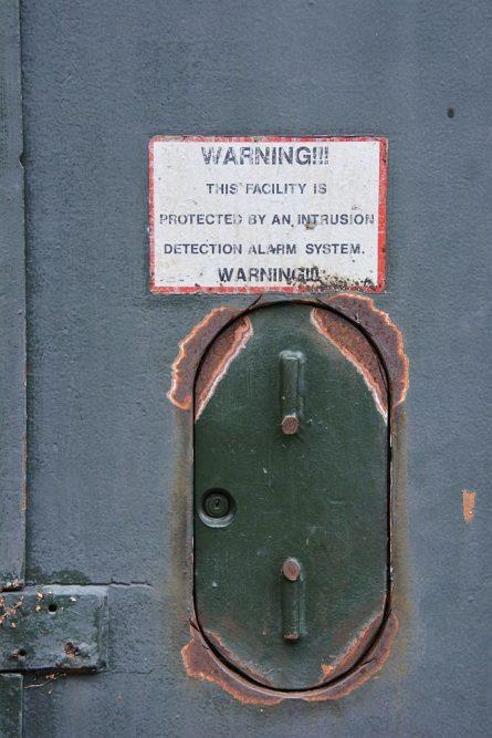 Wandelen in Soest detail oude munitiebunkers