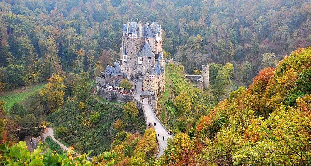 Wandelen in Duitsland; route rondom Burg Eltz