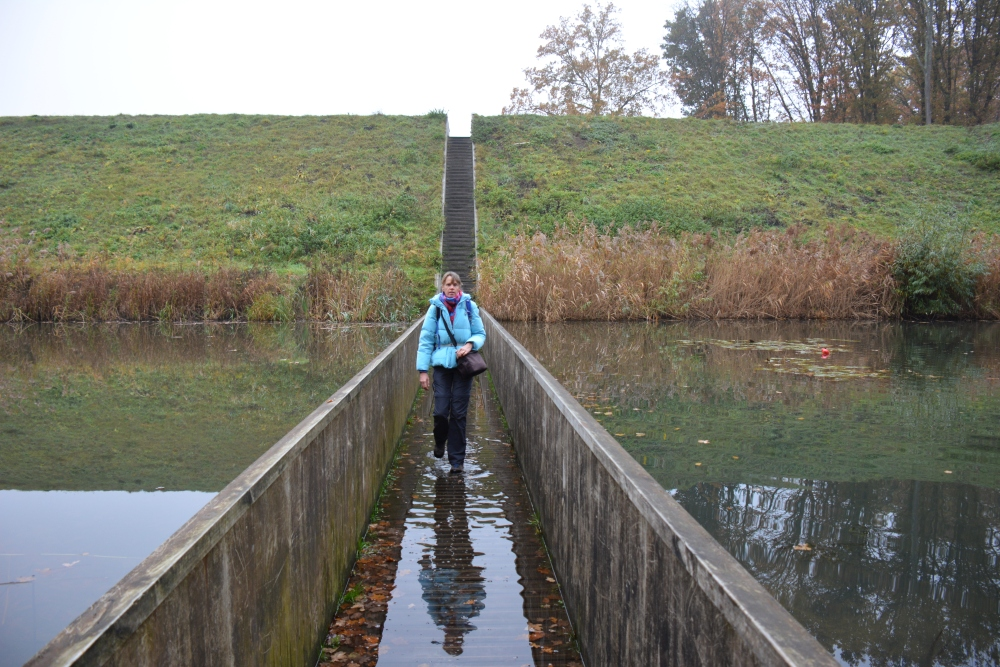 Zuiderwaterlinie wandelpad Mozesbrug Fort de Roovere