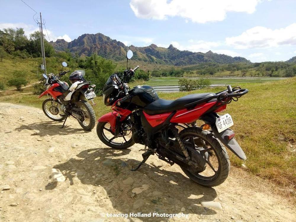 Met mijn motor naar Devils Mountain