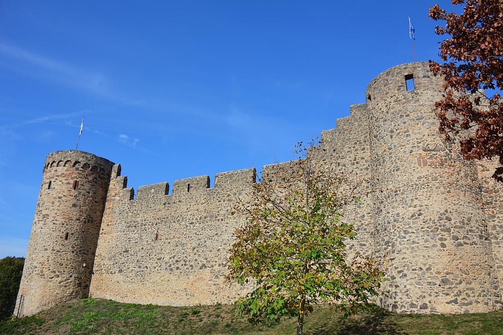oude stadsmuur bij Hillesheim