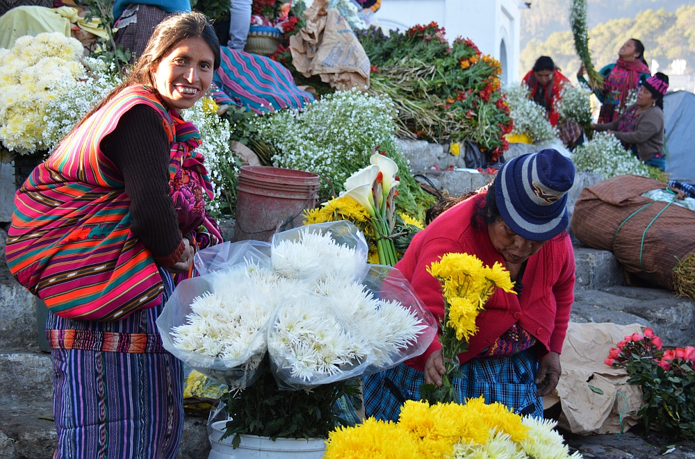 portraits of the world Guatemala markt Chichicastenango