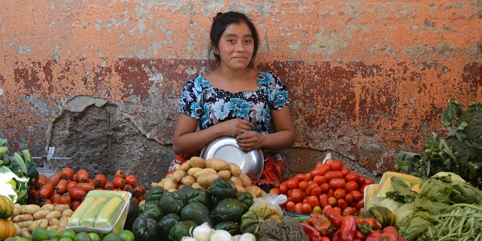portraits of the world guatemala op de markt va Chichicastenango