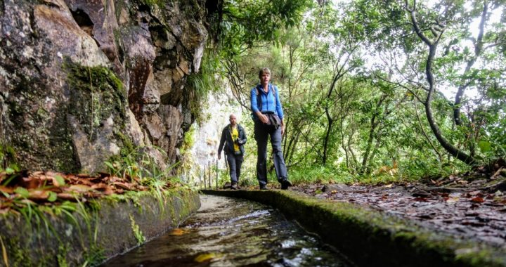 wandelen op Madeira Levada do rei