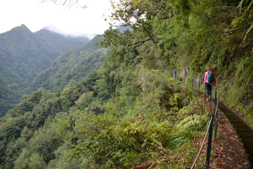 wandelen op Madeira Levada do rei uitzicht