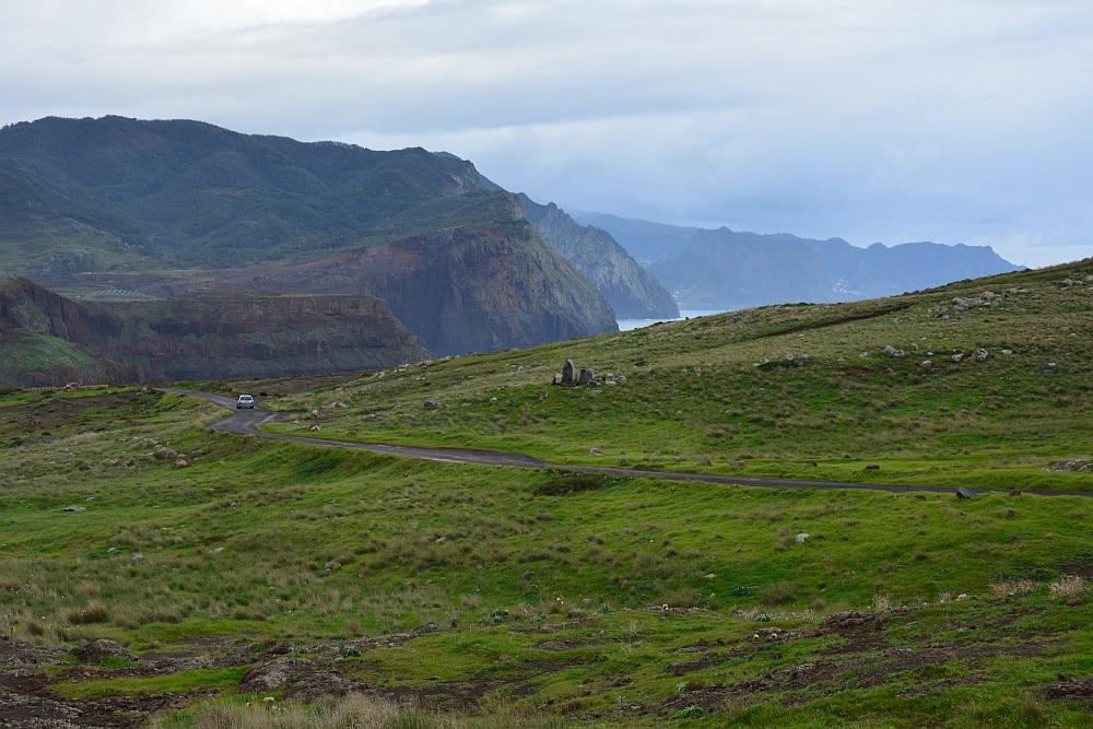 wandelen op Madeira eindeloze vlaktes en kliffen