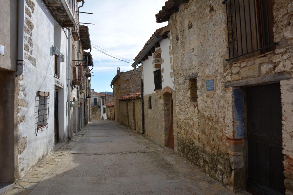 Boixar street Parque Natural Tinença de Benifassà