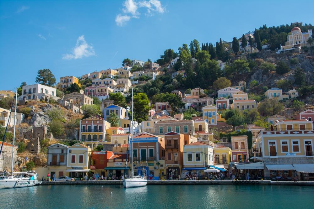 De leukste Europese eilanden Symi in Griekenland