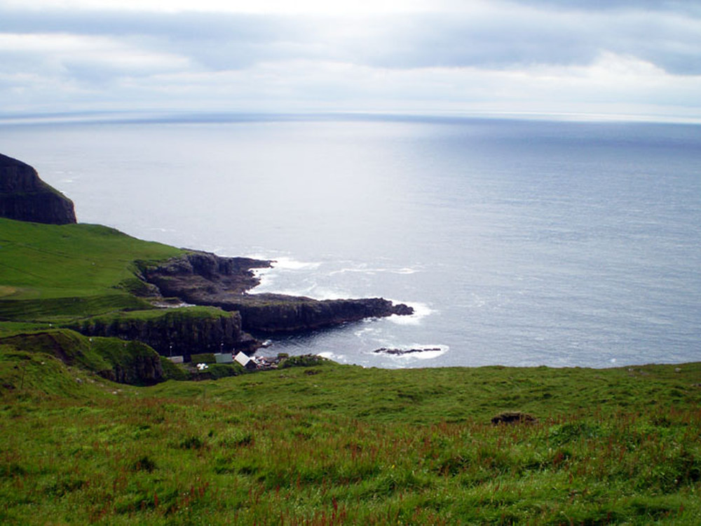 Mykines Faeröer eilanden