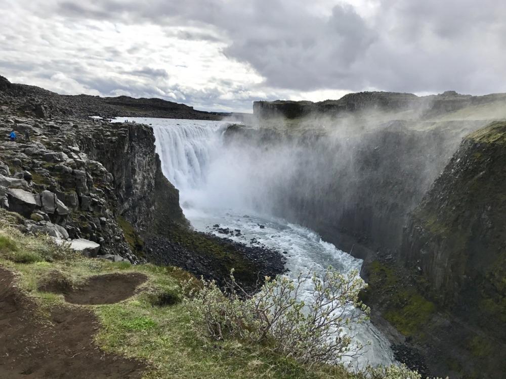 De leukte eilanden van Europa Dettifoss op IJsland