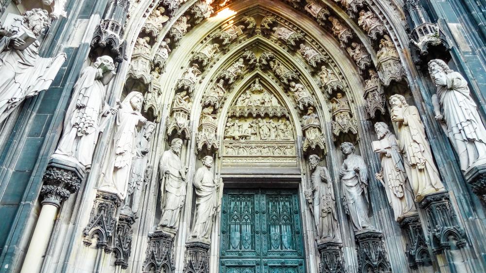 De mooiste plekken in Duitsland close up dom Keulen