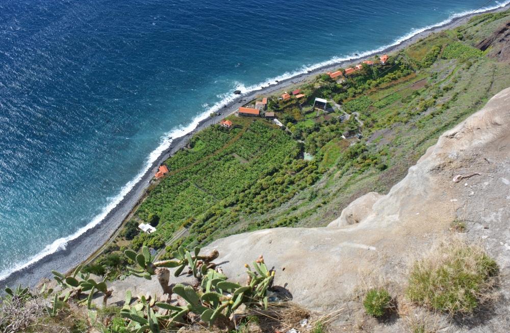 Faja dos Padres mooie bungalows om te overnachten op Madeira