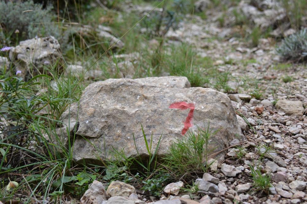 La Ruta de los 7 Pueblos routemarkering