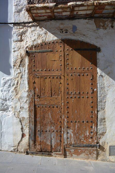 Mooie deur in La Pobla de Benifassà