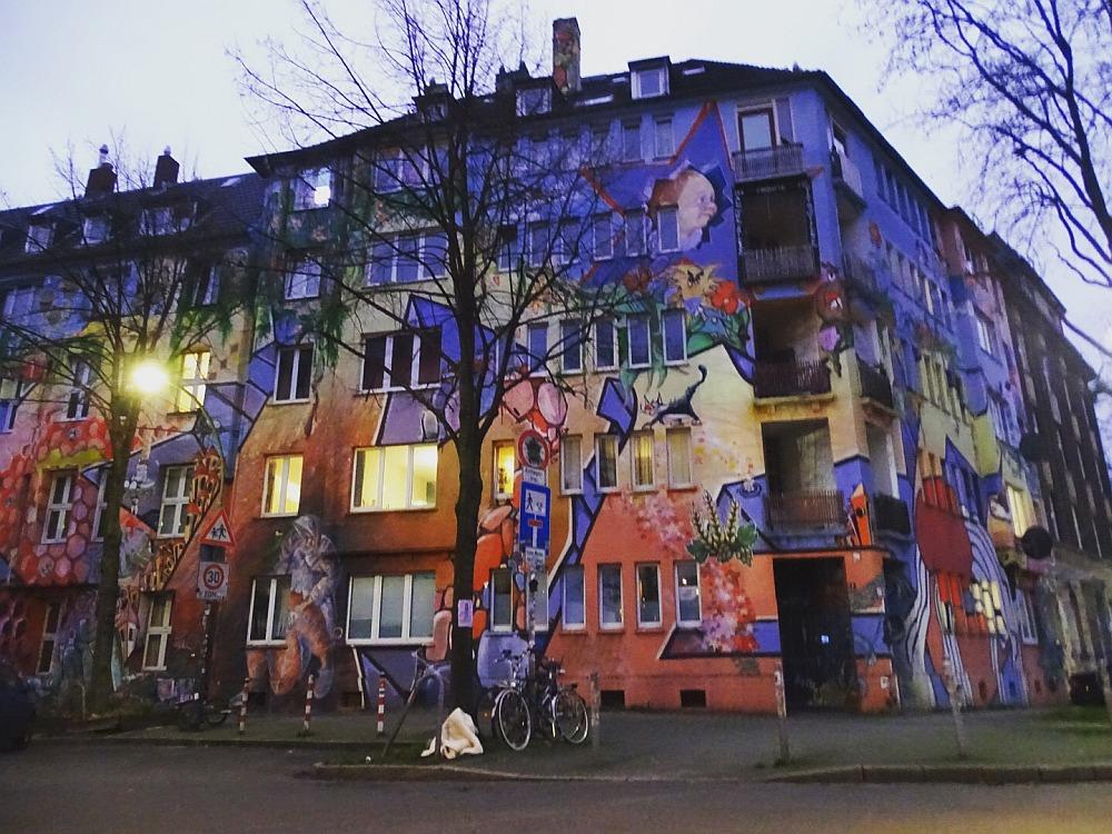 de mooiste bestemmingen van Duitsland Streetart in Dusseldorf