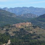 uitzicht wandeling Parque Natural Tinença de Benifassà