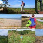 wandelen in Nederland pagina van wandelblogger Myfootprints.nl