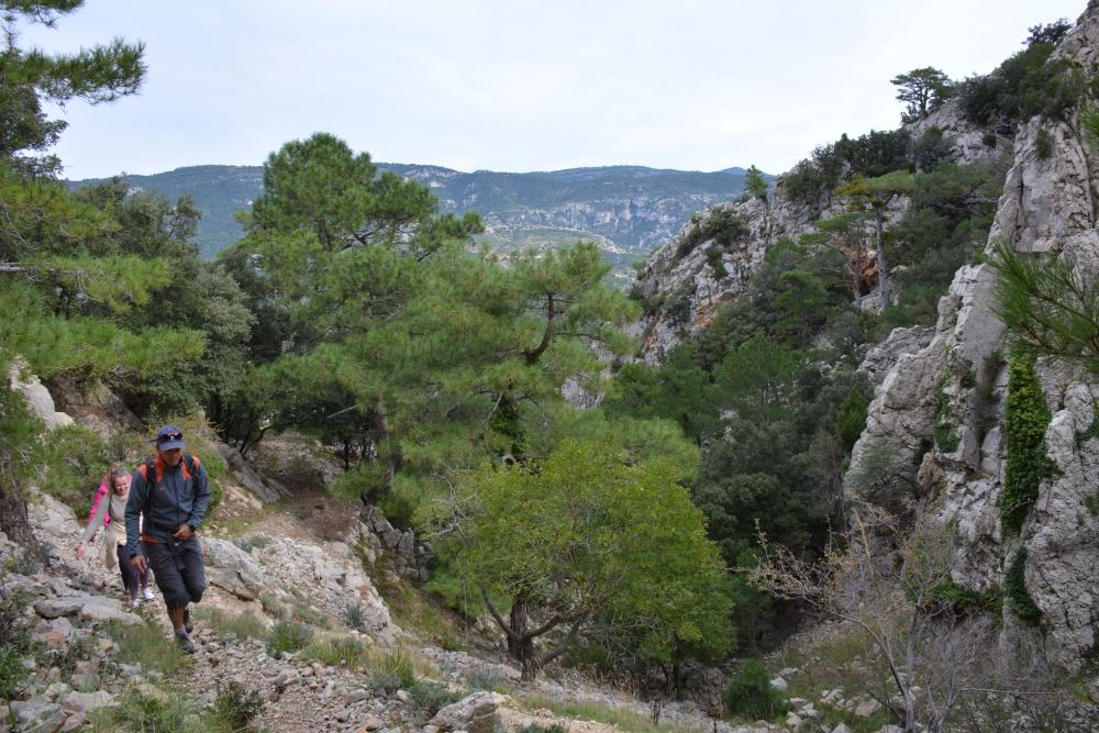 wandelen in het Parque Natural Tinença de Benifassà