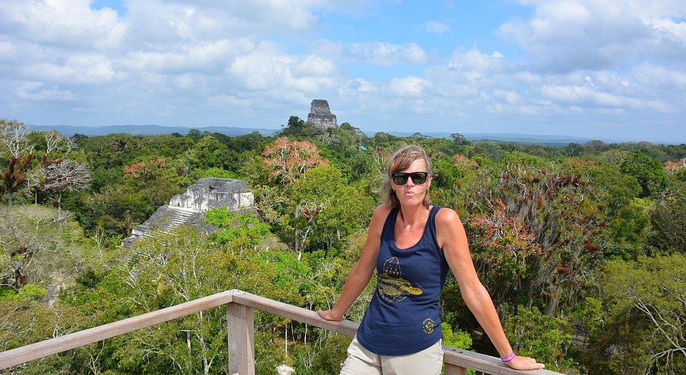 Midden Amerika pagina Myfootprints Tikal Guatemala