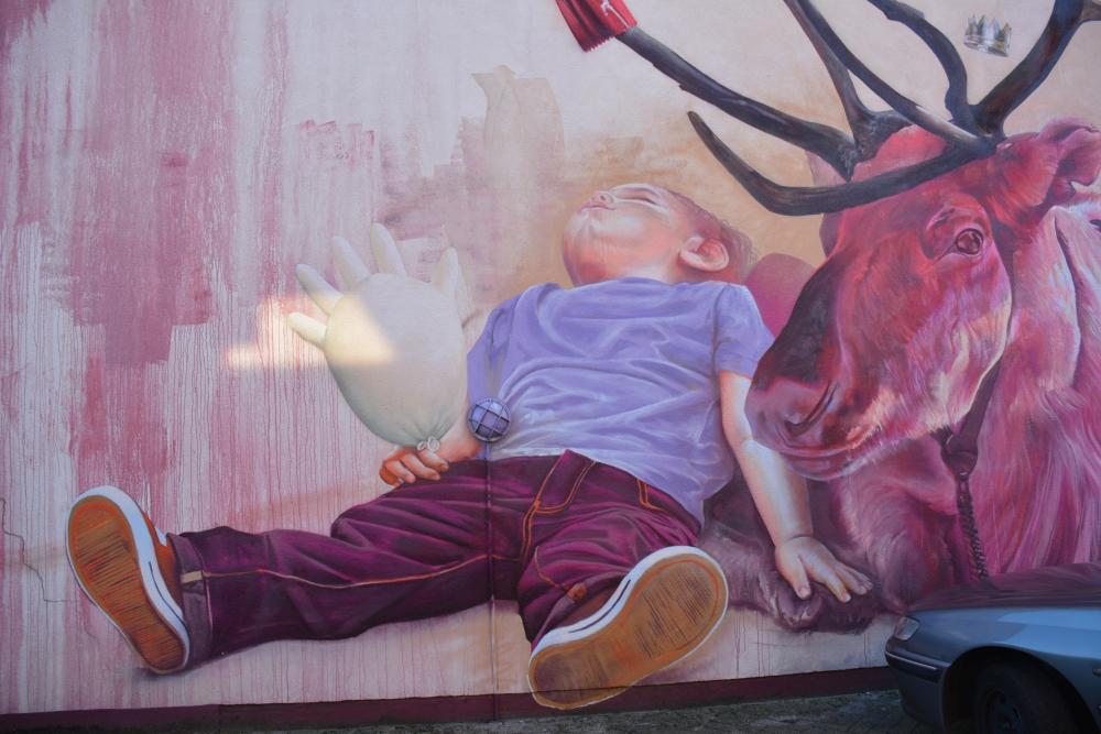 Street Art Heerlen Case Maclaim rendier