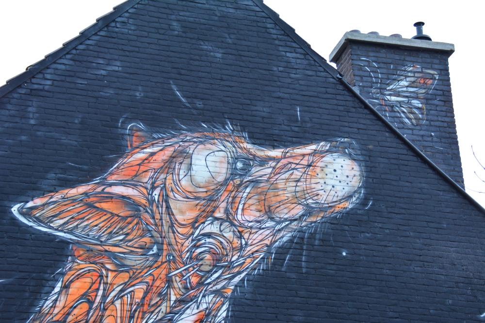 Street Art Heerlen Catch the Butterfly Dzia