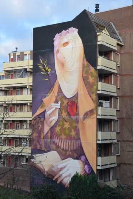 Street Art Heerlen Creed van Inti Spoorsingel