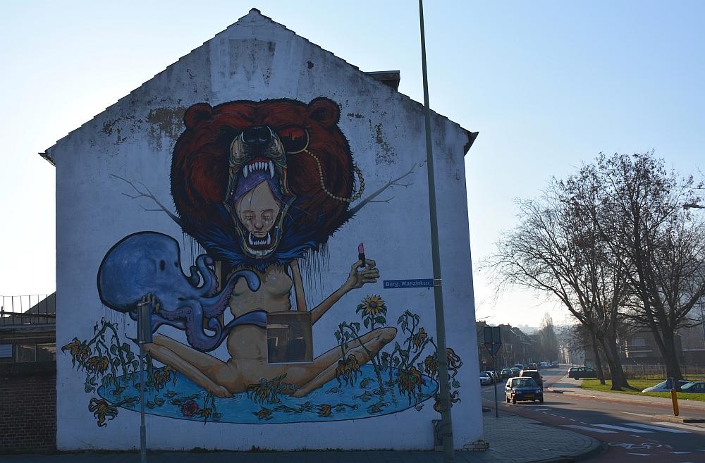 Street Art Heerlen In Loving Memory