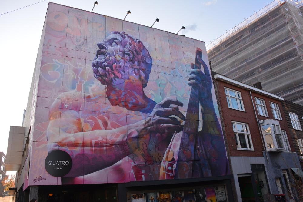 Street Art Heerlen Quattro cinema