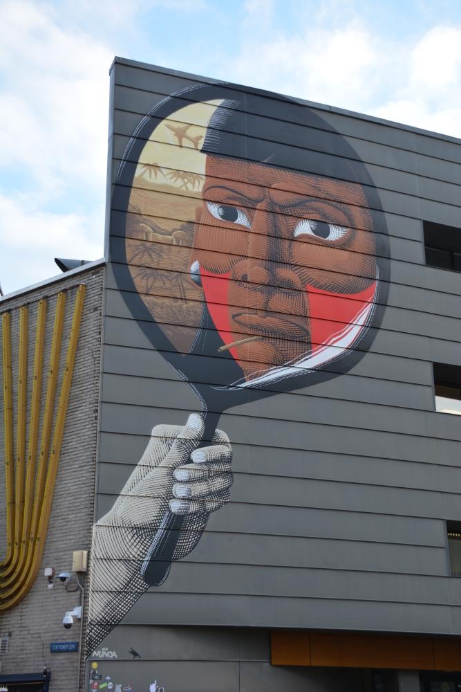Street Art Heerlen spiegel