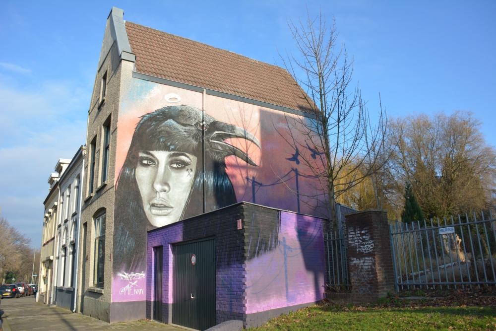 Street Art Heerlen onderweg vind je van alles