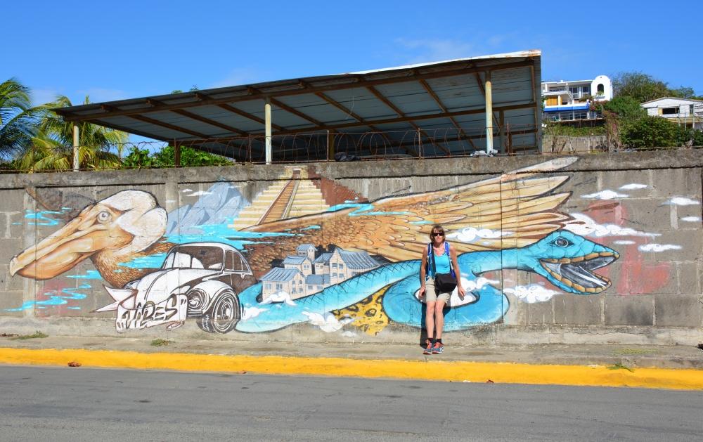 Street Art San Juan del Sur Nicaragua