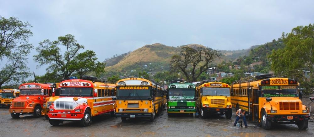 rondreis Nicaragua bussen in Nicaragua