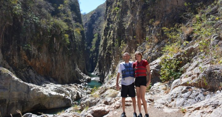canyoning in de Somoto Canyon