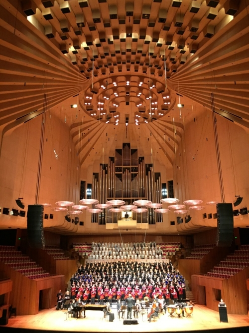emigreren en werken in Australië Winnie Sydney concert Opera House