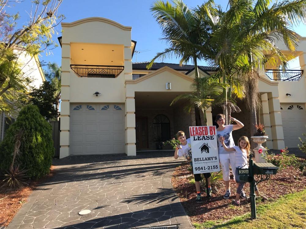 emigreren en werken in Australië Winnie ons huis in Sydney