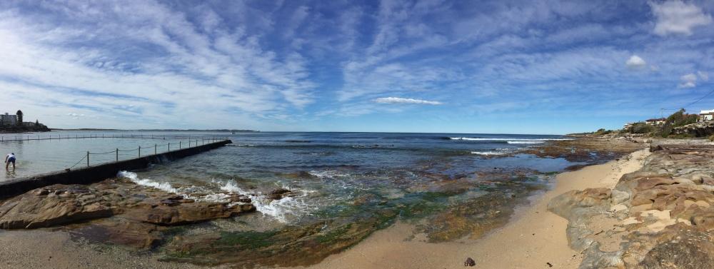 emigreren en werken in Australië Winnie mooi strand Sydney